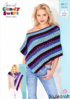 Stylecraft candy swirl pattern 9417 crochet